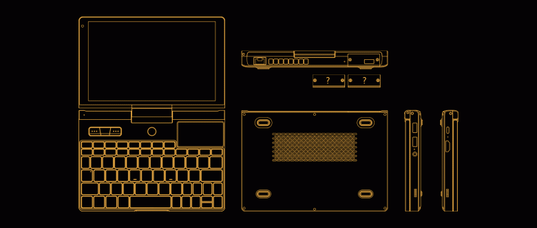 Сверхкомпактный ноутбук с тачпадом и возможностью подключения модулей. GPD Pocket 3 уже в разработке