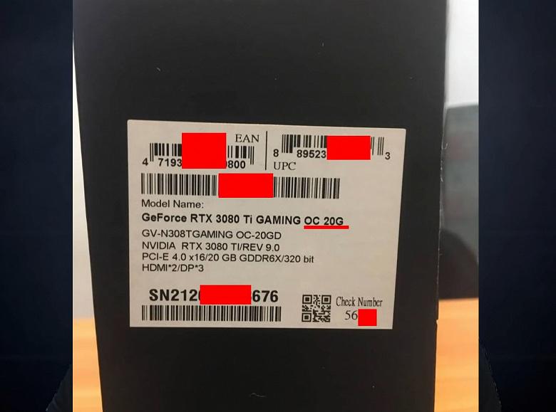94 MH/s за 225000 тысяч рублей. Официально несуществующую Gigabyte RTX 3080 Ti 20GB Gaming OC протестировали в майнинге