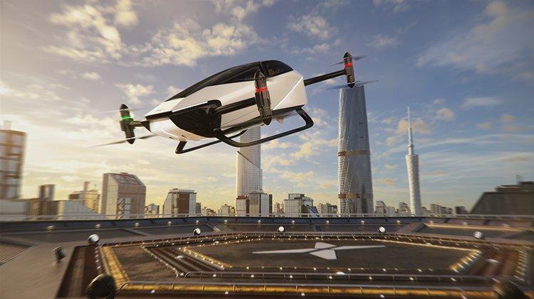 Компания HT Aero рассказала об использовании летательных аппаратов в городах