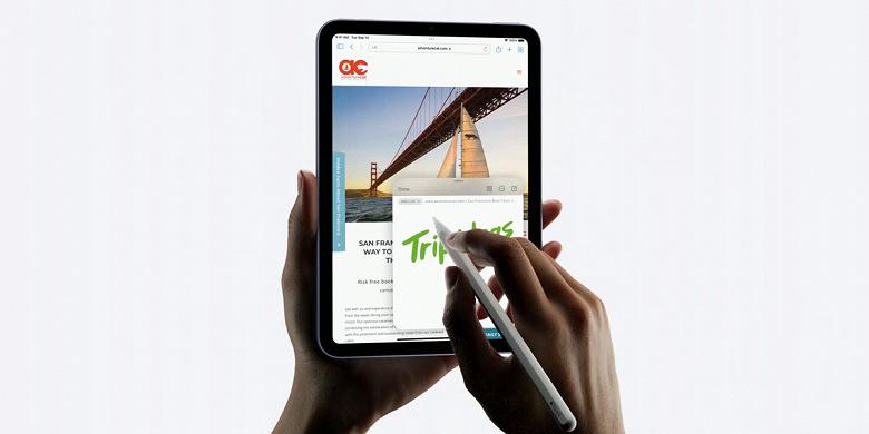 В Apple iPad mini 6 обнаружена проблема «желейного экрана»: она наглядно показана в видеоролике