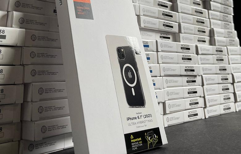 Новый дизайн iPhone 13 с диагональным расположением модулей камеры подтверждён именитым производителем чехлов Spigen
