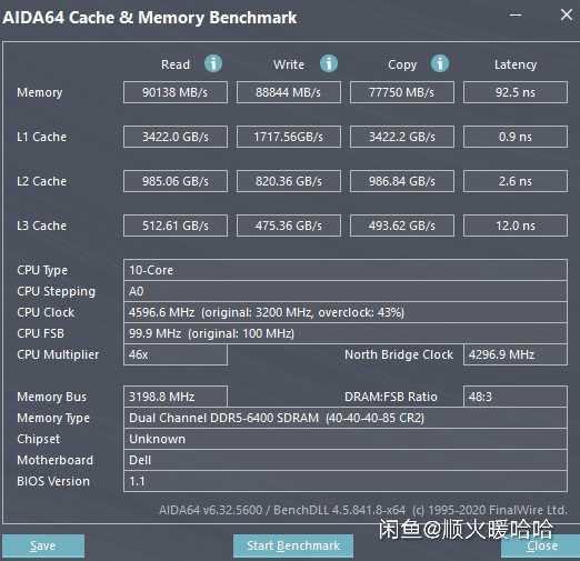 10-ядерный процессор Intel Core i5-12600K (Alder Lake) протестировали с памятью DDR5-6400 МГц. Каков результат?