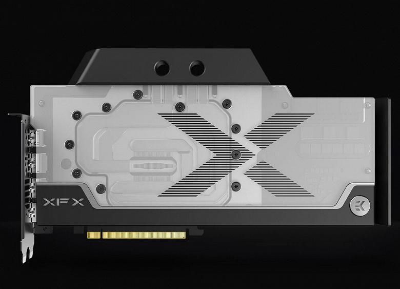 Представлена видеокарта XFX Radeon RX 6900 XT Speedster Zero WB