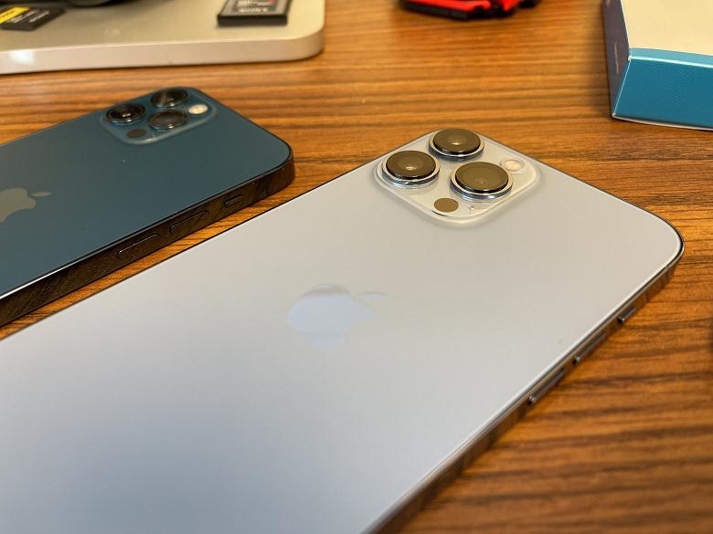 Ещё один сюрприз iPhone 13 Pro Max: все три камеры получили новые датчики Sony