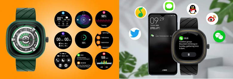 Представлены дешёвые умные часы с мониторингом ЧСС, SpO2 и десятками спортивных режимов от производителя защищённых смартфонов Doogee
