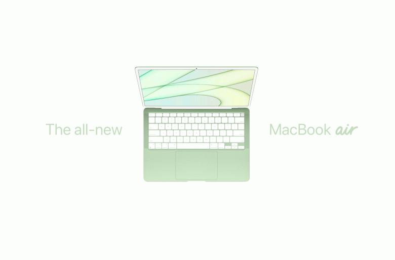 MacBook Air с дизайном нового iMac и SoC Apple Silicon следующего поколения выйдет в третьем квартале 2022 года