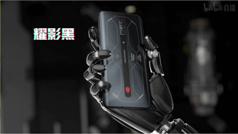 Snapdragon 888 Plus, AMOLED screen, 165Hz, 18GB RAM, 64MP, 4500mAh and 120W.  Introduced RedMagic 6S Pro – one of the most powerful gaming smartphones