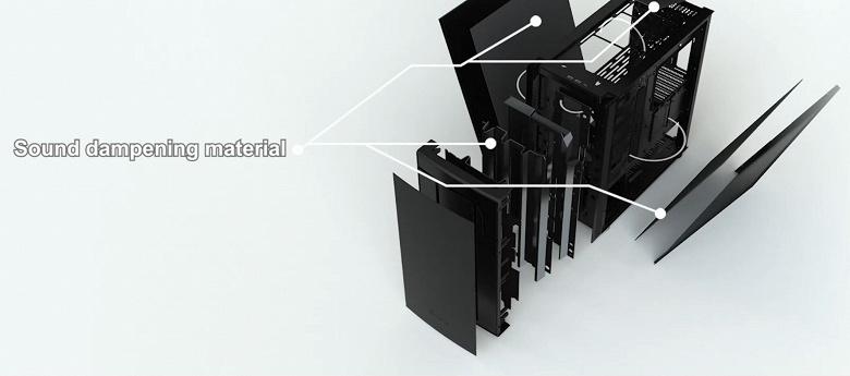 В компьютерном корпусе SilverStone Seta Q1 можно установить до семи 140-миллиметровых вентиляторов