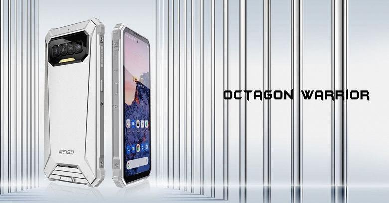 Представлен первый неубиваемый смартфон с 90-герцевым экраном, IP69K, камерой ночного видения и аккумулятором на 8300 мА•ч: iiiF150 R2022 предлагается за 200 долларов
