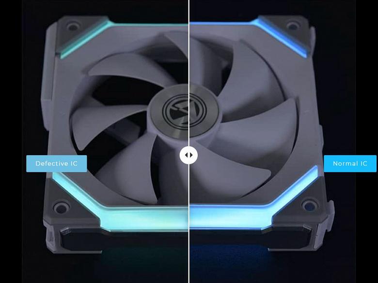 Производитель обнаружил дефект в некоторых вентиляторах Lian Li Uni SL120 и предлагает бесплатную замену