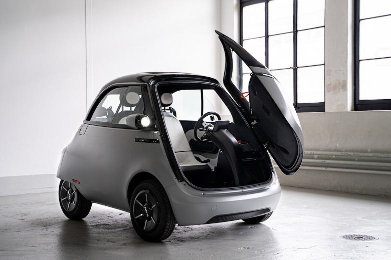 Крошечный электромобиль Microlino вызвал большой интерес