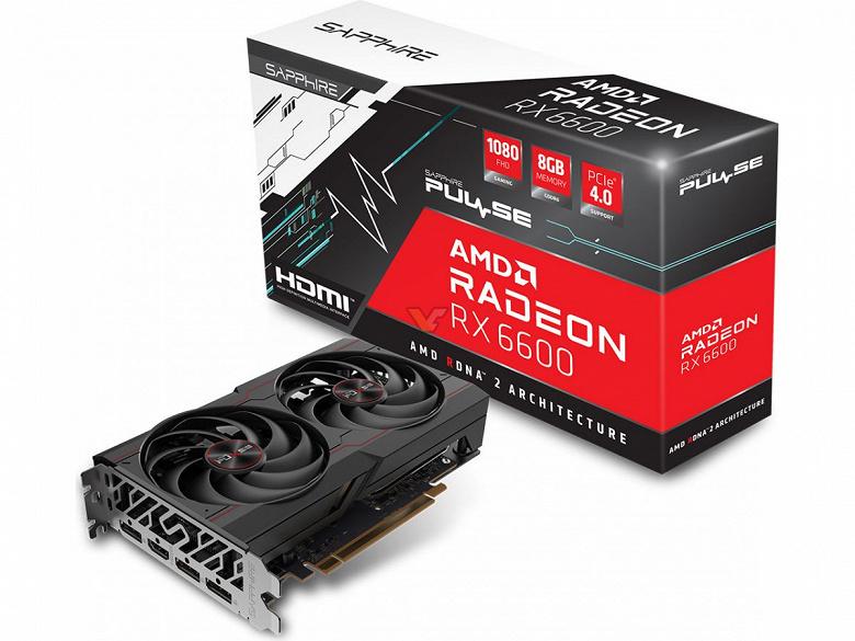 За Radeon RX 6600 в Европе просят 590 евро. Sapphire Radeon RX 6600 Pulse засветилась в португальском магазине