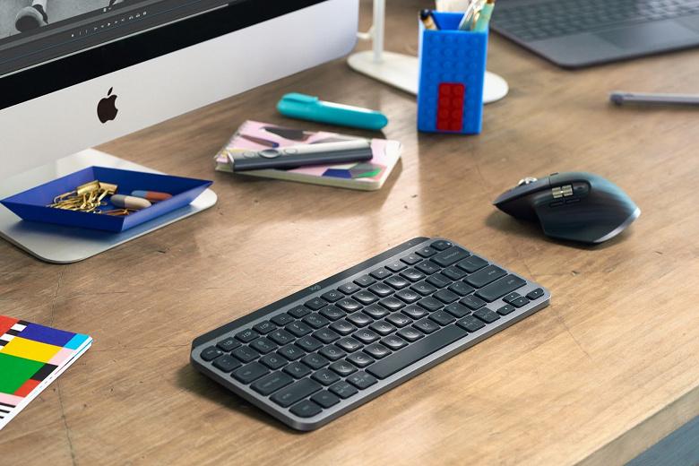 Представлена крошечная клавиатура Logitech MX Keys Mini с поддержкой Windows, Android, ChromeOS, Linux, iOS и iPadOS