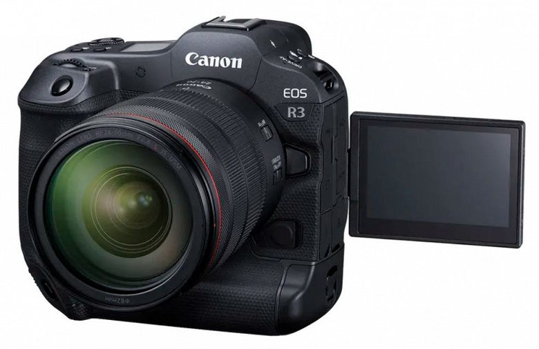 24 MP and 6K video recording at 60 fps for $ 6,000.  Canon's flagship mirrorless camera EOS R3 introduced
