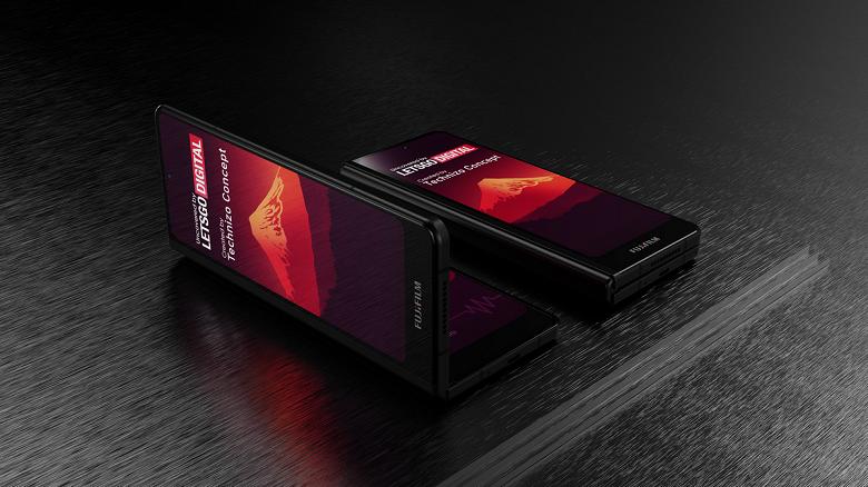 Складной смартфон Fujifilm выглядит как Samsung Galaxy Fold 3. Опубликованы качественные изображения