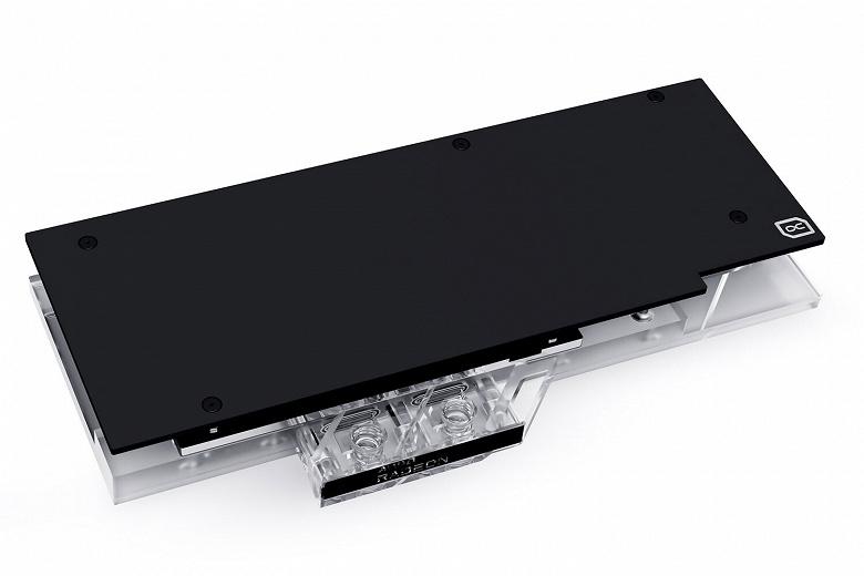 Alphacool предлагает водоблок Eisblock Aurora Acryl GPX для видеокарт Gigabyte Radeon RX 6800XT и 6900XT Gaming OC