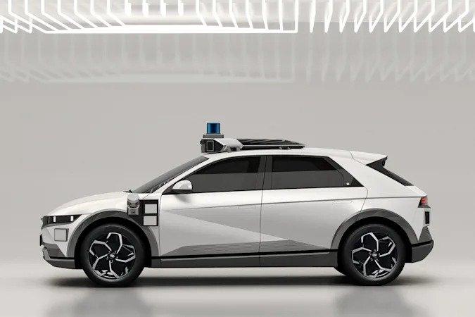 Первым коммерческим роботакси Motional будет модернизированный электромобиль Hyundai Ioniq 5