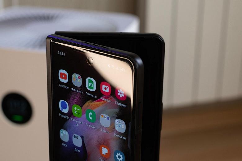 Взорвался первый Samsung Galaxy Z Fold3