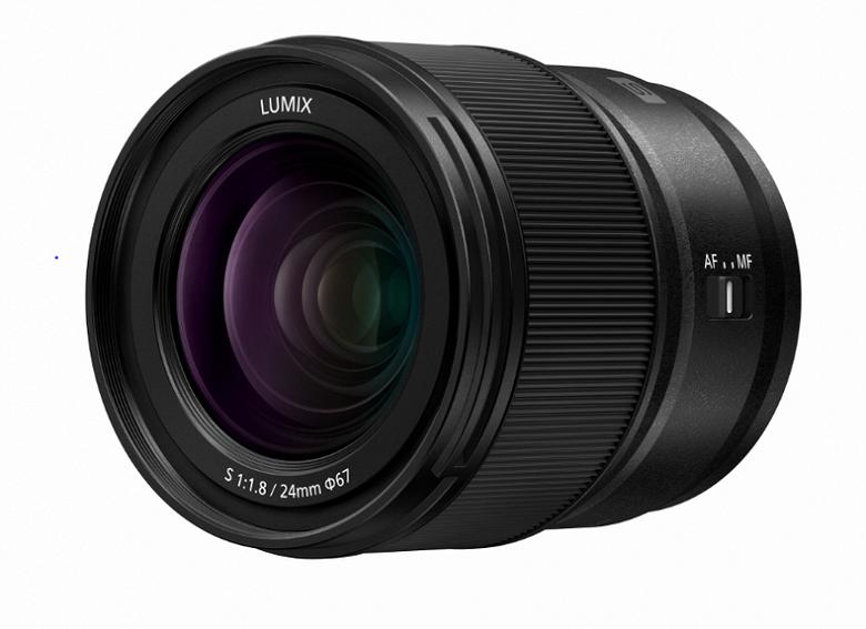 Представлен объектив Panasonic Lumix S 24mm F1.8 (S-S24)