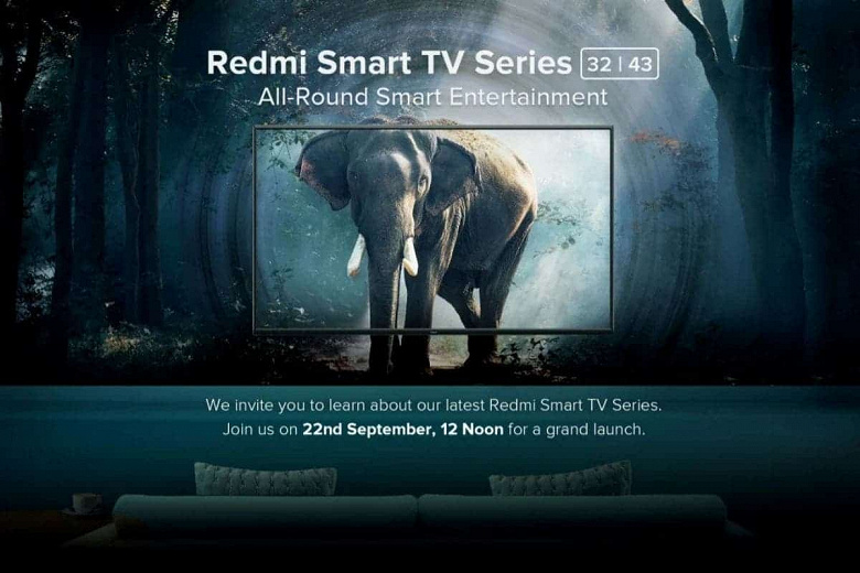 Affordable Redmi TVs are out on September 22nd: most of the specs are already known