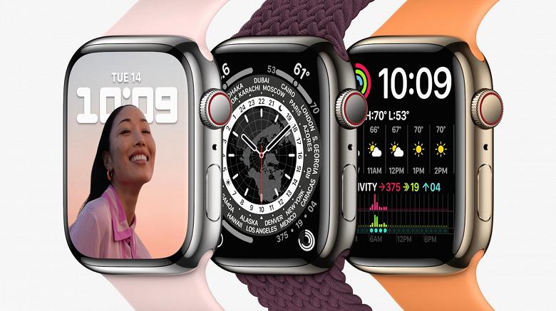 Apple Watch Series 7 получили точной такой же процессор, что и прошлогодние Apple Watch Series 6
