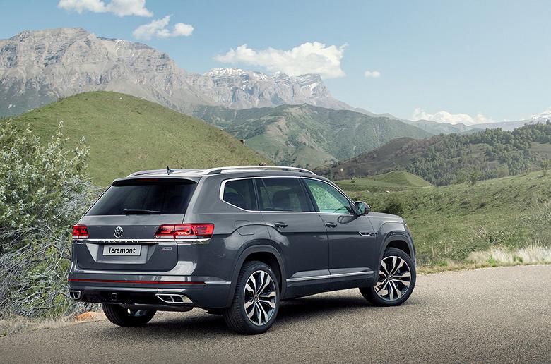 Самый большой Volkswagen: новый кроссовер Teramont уже можно заказать в России