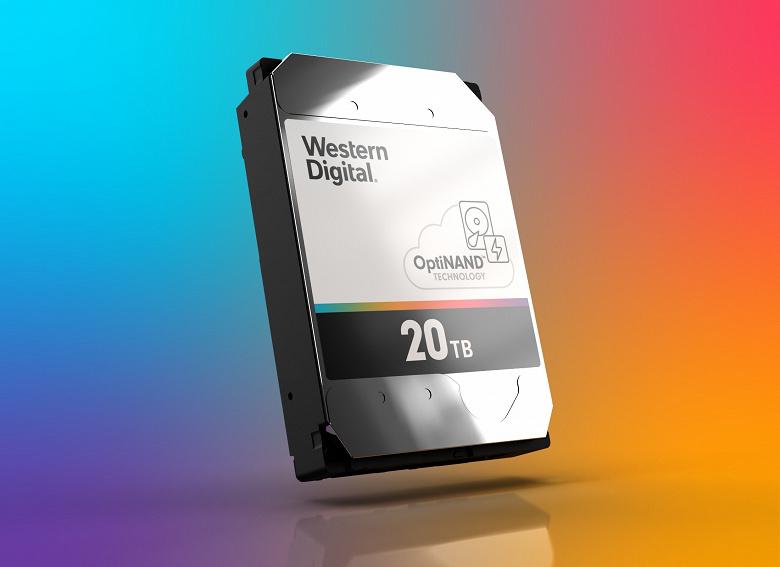 Представлена архитектура жестких дисков Western Digital OptiNAND