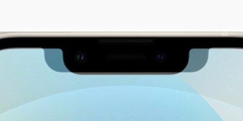 Чёлка iPhone 13 даже увеличилась по высоте по сравнению с iPhone 12, но стала уже