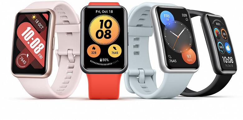 Умные часы Huawei Watch Fit New выходят в Европе: названы дата выхода и цена