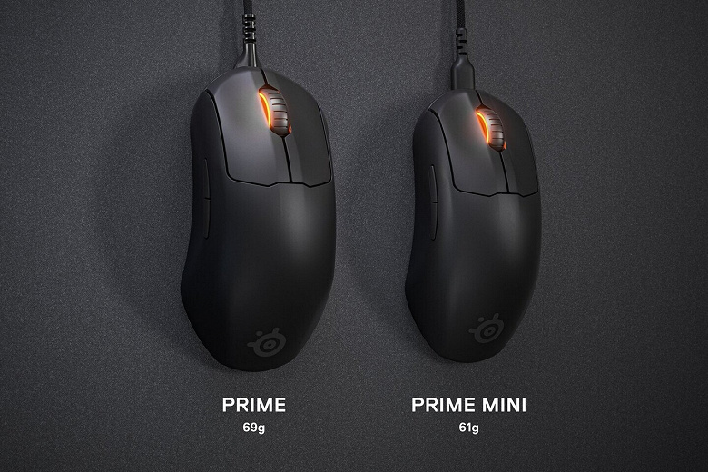 Мыши SteelSeries Prime Mini и Prime Mini Wireless адресованы киберспортсменам