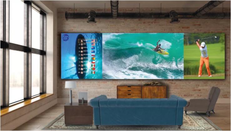 Представлен 325-дюймовый телевизор LG DVLED TV