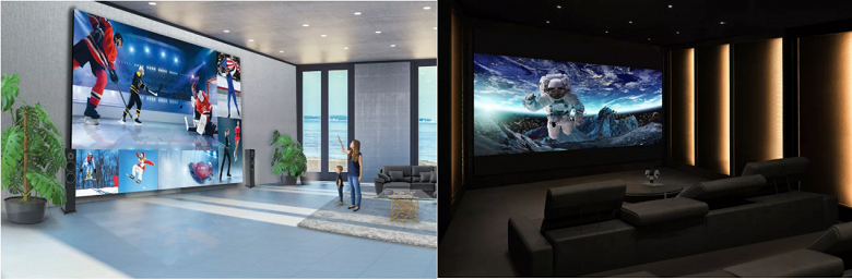 Представлен 325-дюймовый телевизор LG LG DVLED TV