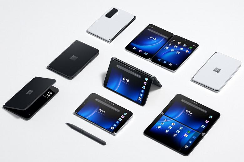 Snapdragon 888, два экрана AMOLED, тройная камера, 4450 мА·ч и Android 11 за 1500 долларов. Microsoft представила второе поколение смартфона Surface Duo
