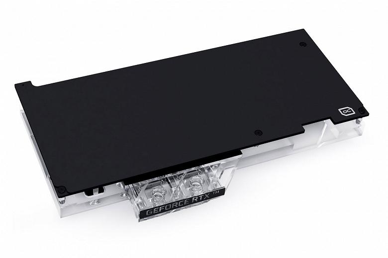 Водоблок Alphacool Eisblock Aurora Acryl GPX предназначен для видеокарты EVGA Geforce RTX 3070 FTW3 Ultra