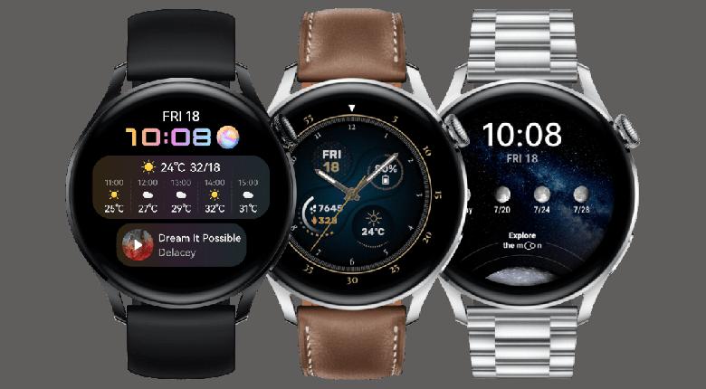 Умные часы Huawei Watch 3 и Watch 3 Pro получили большое обновление с новыми функциями