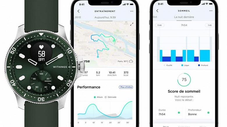 «Лучшие в мире гибридные умные часы» стали ещё лучше. Withings ScanWatchHorizon стали похожи на дайверские часы