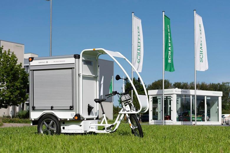 Система Schaeffler Free Drive устраняет из конструкции велосипеда механическую трансмиссию