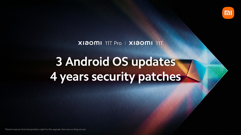 Officially: Xiaomi 11T will be the first to receive three new generations of Android