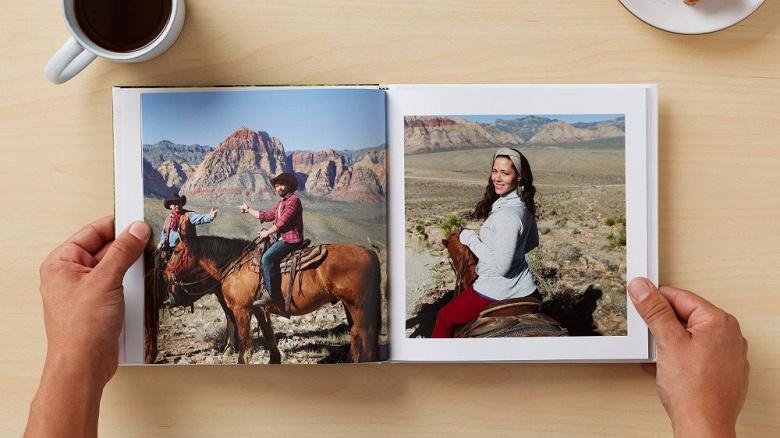 Google Фото теперь может доставлять прямо домой распечатанные фотографии большого формата и фотоальбомы