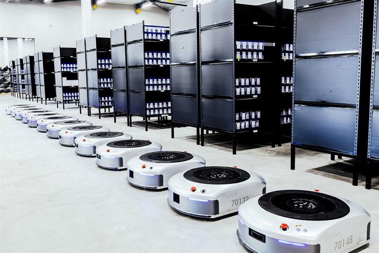 В 2030 году на склады по всему миру будет отгружено более полумиллиона мобильных роботов
