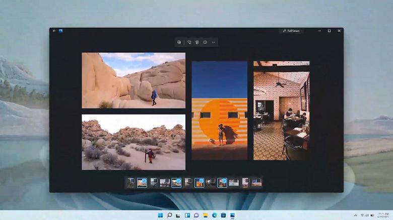 Microsoft показала новое приложение Photos для Windows 11