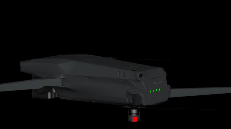 Сдвоенная камера Hasselblad, 7-кратный оптический зум, аккумулятор ёмкостью 6000 мА·ч и новый дизайн. Дрон DJI Mavic 3 показали на рендерах