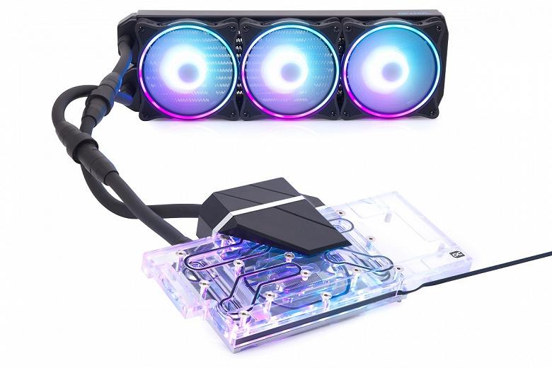 Система жидкостного охлаждения Alphacool Eiswolf 2 совместима с видеокартами Gigabyte GeForce RTX 3080/3090