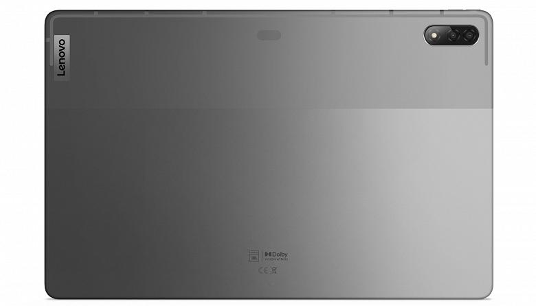 10200 мА·ч, экран OLED диагональю 12,6 дюйма, Snapdragon 870, сдвоенная камера, четыре динамика JBL и 45 Вт. Представлен топовый планшет Lenovo Tab P12 Pro