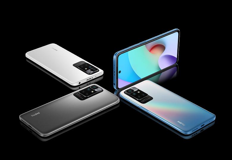 5000 мА•ч, 90 Гц, 50 Мп, NFC и MIUI 12.5 с Android 11. Xiaomi привезла Redmi 10 в Россию