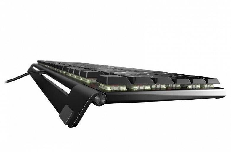 Cherry MX 10.0 N RGB — низкопрофильная механическая клавиатура