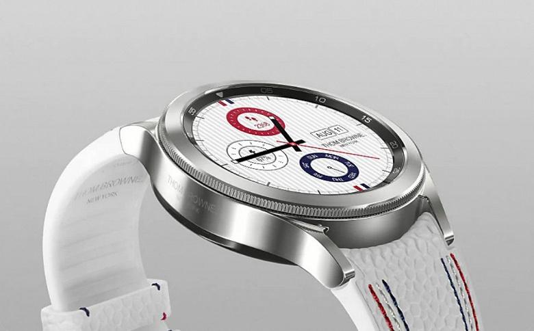 Представлены умные часы Samsung Galaxy Watch 4 Classic Thom Browne Edition