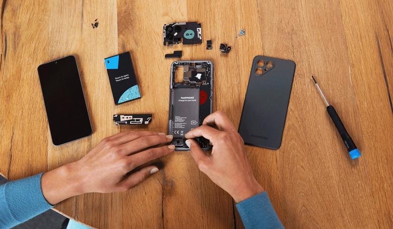 Смартфон-конструктор с гарантией на 5 лет. Представлен Fairphone 4