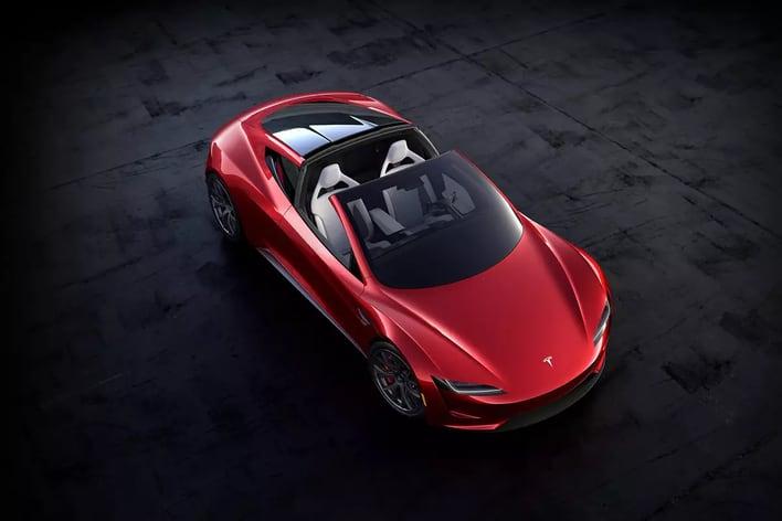 Tesla Roadster 2 сможет разгоняться до 100 км/ч всего лишь за 1,1 с, но лишь в 2023 году