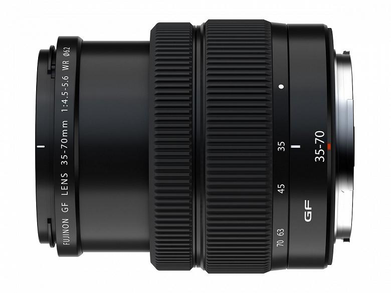 Представлен объектив Fujinon GF35-70mmF4.5-5.6 WR